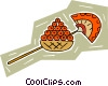 Vector Clip Art image  of a Egyptian
