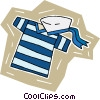 sailor's uniform Vector Clipart illustration