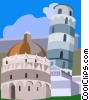 Vector Clipart picture  of a Italy