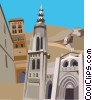 Toledo, Spain Vector Clipart picture