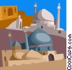 Vector Clipart graphic  of a Iran