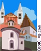 Czech Republic , Prague Vector Clipart illustration