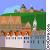 Vector Clip Art graphic  of a Denmark