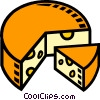 Swiss cheese Vector Clipart picture