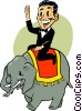 elephant Vector Clipart graphic