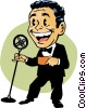 emcee Vector Clipart illustration