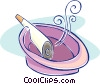 cigarette Vector Clipart illustration