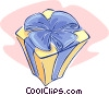 Vector Clipart graphic  of a present or gift