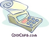 Vector Clip Art graphic  of a calculator