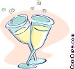 champagne Vector Clipart illustration