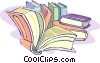 books, education Vector Clipart illustration