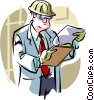 foreman Vector Clipart graphic