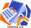 Vector Clipart picture  of a rolodex