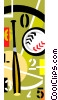 baseball Vector Clipart graphic