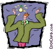 Vector Clipart picture  of a good idea