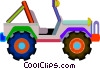 jeep Vector Clipart illustration