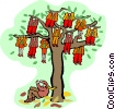 tree Vector Clipart illustration
