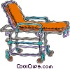 Vector Clipart illustration  of a stretcher