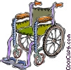 wheel chair Vector Clip Art picture