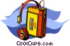 walkman Vector Clip Art graphic