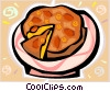 Piece of pie Vector Clip Art graphic