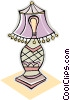 Vector Clip Art picture  of a lamp