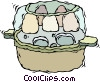 Vector Clipart graphic  of a incubator