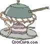 Vector Clipart graphic  of a wok