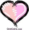 Vector Clipart graphic  of a romance