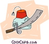 Turkish hat and sword Vector Clip Art picture