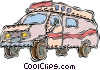 Vector Clipart illustration  of an ambulance