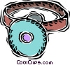 doctors headset Vector Clip Art picture