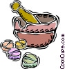 Vector Clip Art picture  of a medicine