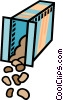 Vector Clip Art graphic  of a crackers