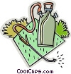 bug sprayer, pesticide Vector Clipart image