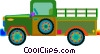 Vector Clipart picture  of a Pickup truck