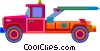 tow truck Vector Clipart image