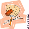 fans Vector Clipart illustration