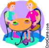 cafe Vector Clip Art picture