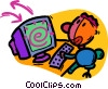computer Vector Clipart picture