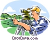 surveyor Vector Clipart illustration