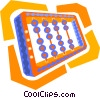 Vector Clipart graphic  of an abacus