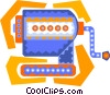 Vector Clip Art picture  of a pencil sharpener