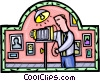 Vector Clip Art picture  of a photography