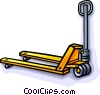 jigger, forklift Vector Clipart illustration