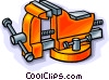 vice, tools Vector Clipart picture