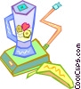 Vector Clip Art graphic  of a blender