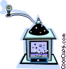 Vector Clipart image  of a grinder