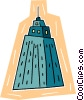 Vector Clip Art picture  of a building