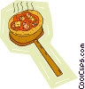 baked bread Vector Clip Art picture